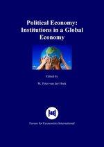 M. Peter van der Hoek, Political Economy: Institutions in a Global Economy, Papendrecht: Forum for Economists International, ISBN 978-90-817873-9-0